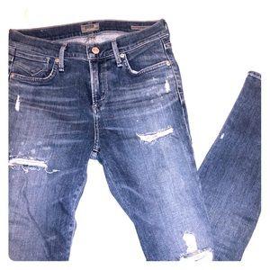 NWOT Agolde Sophie Jeans
